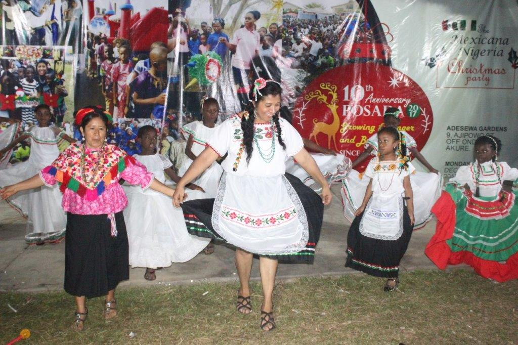 POSADA (Mexican/Nigeria) CHRISTMAS PARTY – for the love and